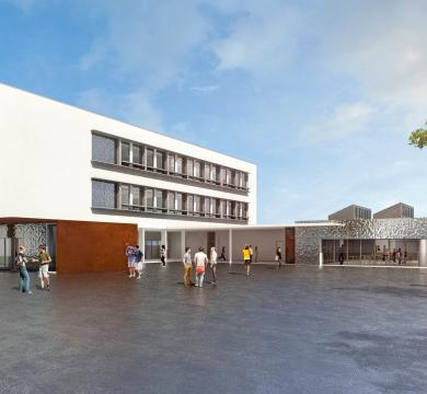Restructuration à neuf du collège de Homécourt