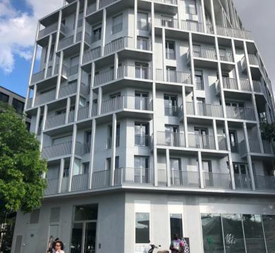 103 logements et restaurant universitaire Ilot Croisset PARIS 18