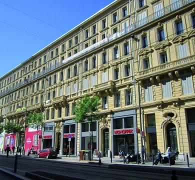 Rue de la République à Marseille