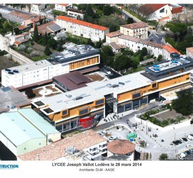 Lycée Joseph Vallot à Lodève