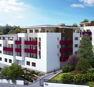 """Résidence """"Le Wellington"""" - 89 logements à Vandoeuvre-Les-Nancy"""