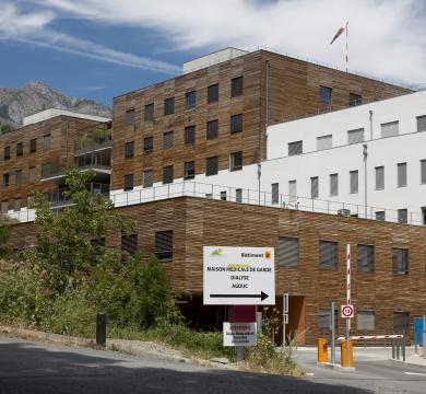 l'hôpital de GAP MURET