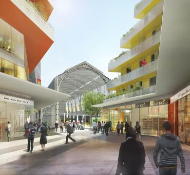 Nouvelle vie pour la Gare du Sud à Nice
