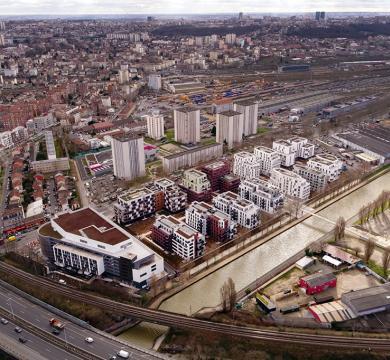 Ensemble immobilier ZAC de l'Ourcq NOISY